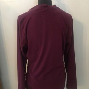 CAbi Tops - CAbi Style 132 Merlot Twist Neck T-shirt